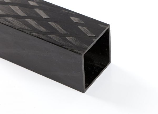 CFK Vierkantrohr 40,0/40,0 x 35 x 2000mm +
