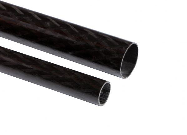 Carbon-Rohre 80,0 x 76,0 x 1000mm