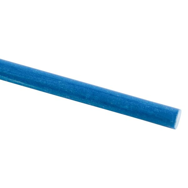 blau Glasfaser-Stäbe 2,0 x 1000mm GFK-Stab pultrudiert